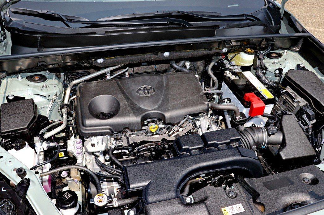搭載原廠代號A25A-FKS的Dynamic Force 2.5升自然進氣引擎。...
