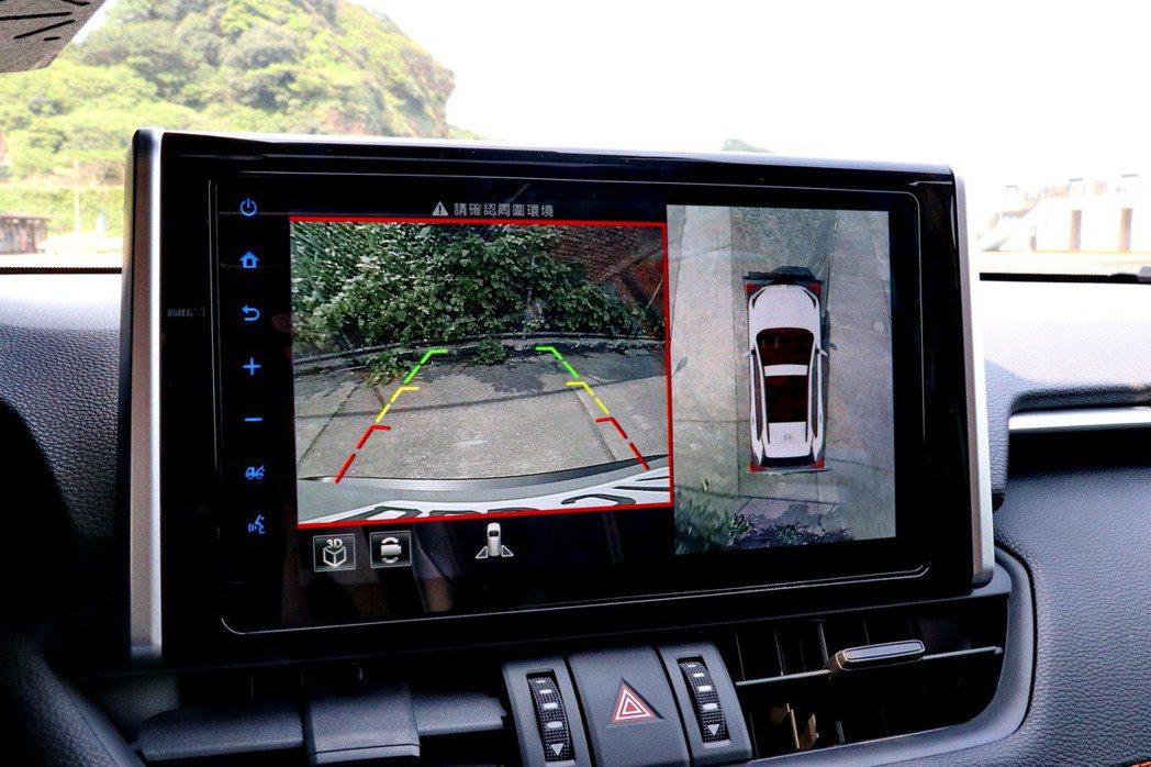 配備PVM環景顯示系統。 記者陳威任/攝影