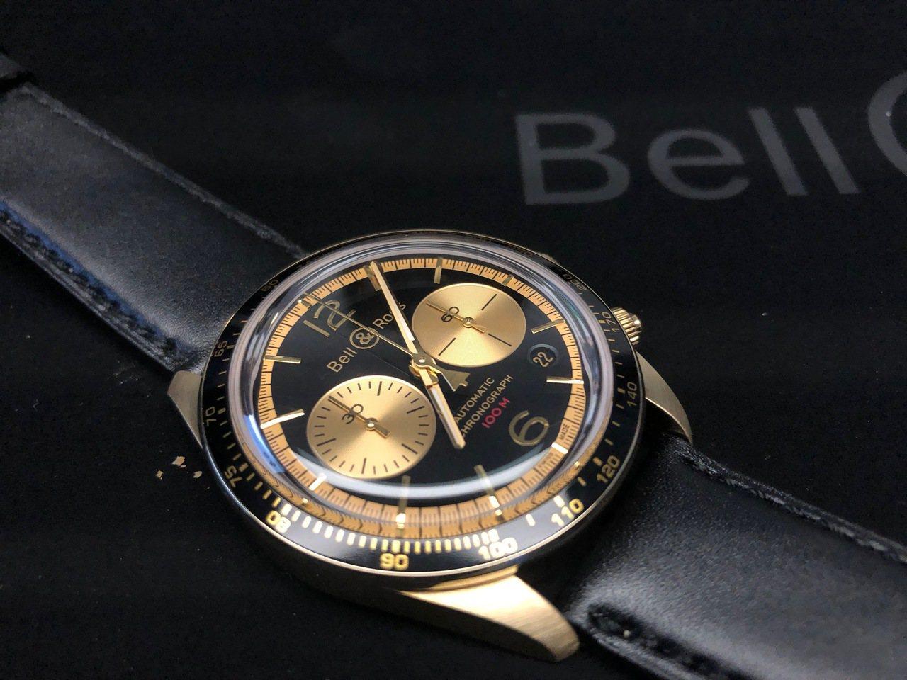 Bell & Ross BRV2-94 Bellytanker Bronze自動...