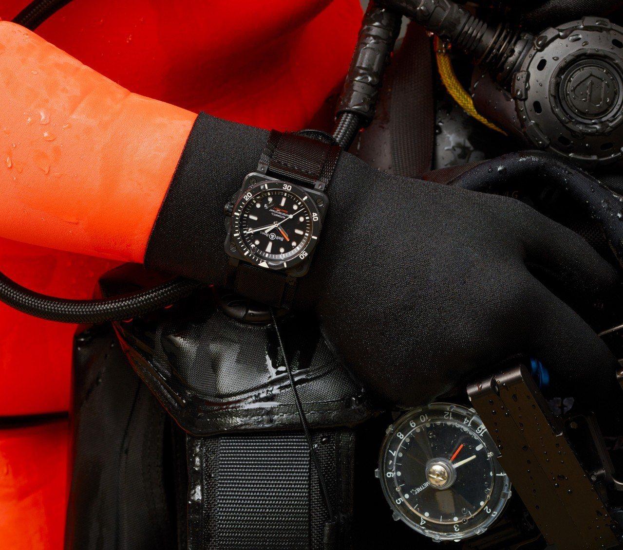 Bell & Ross BR 03-92 Diver Black Matte啞黑...