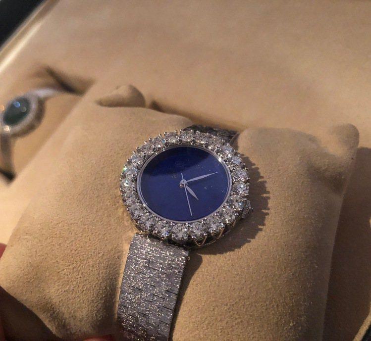 蕭邦LHeure du Diamant腕表裝飾金屬鍊帶款,30毫米18K公平交易...