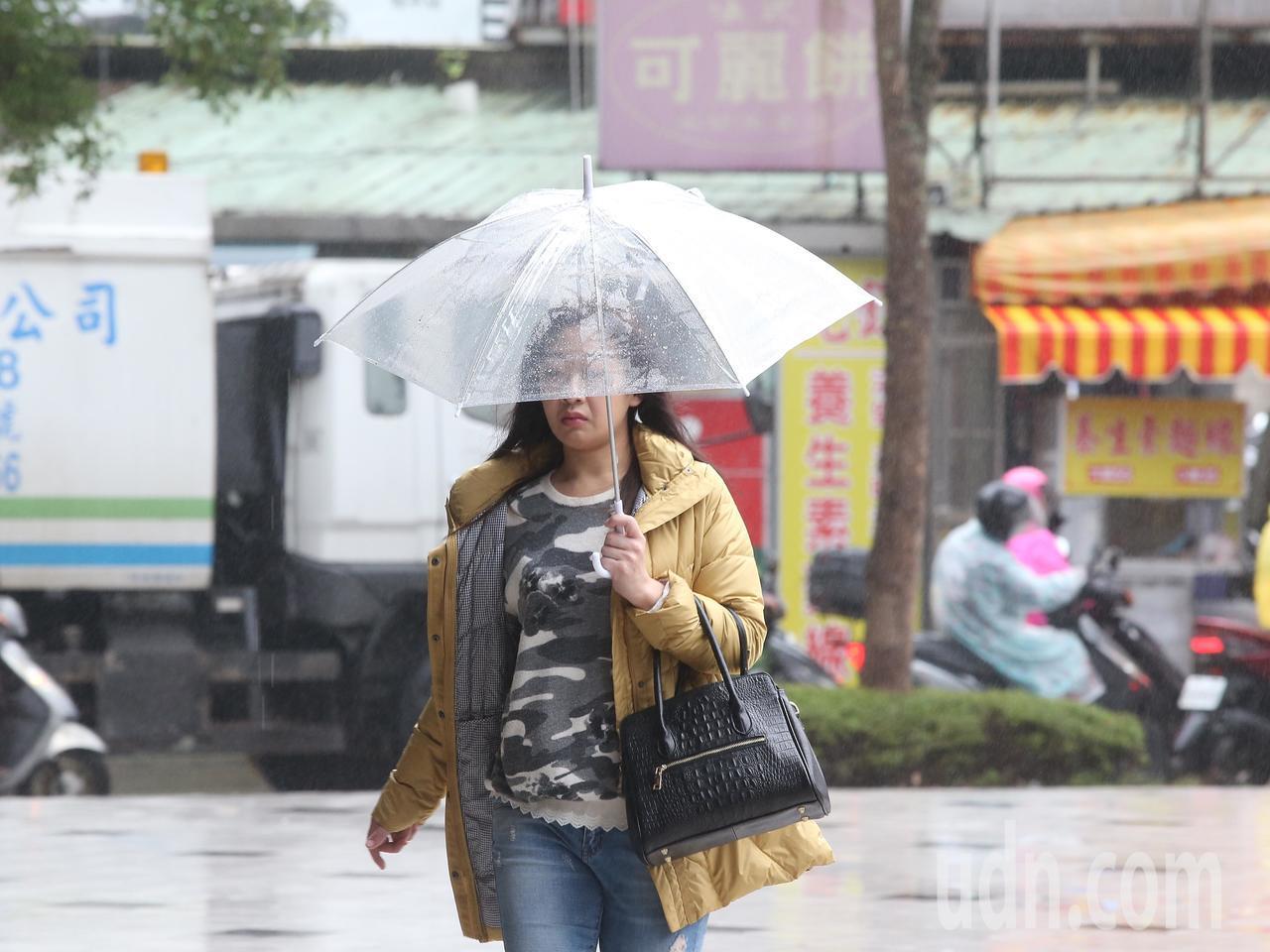 今各地有雨 吳德榮:北台灣濕冷到下周一