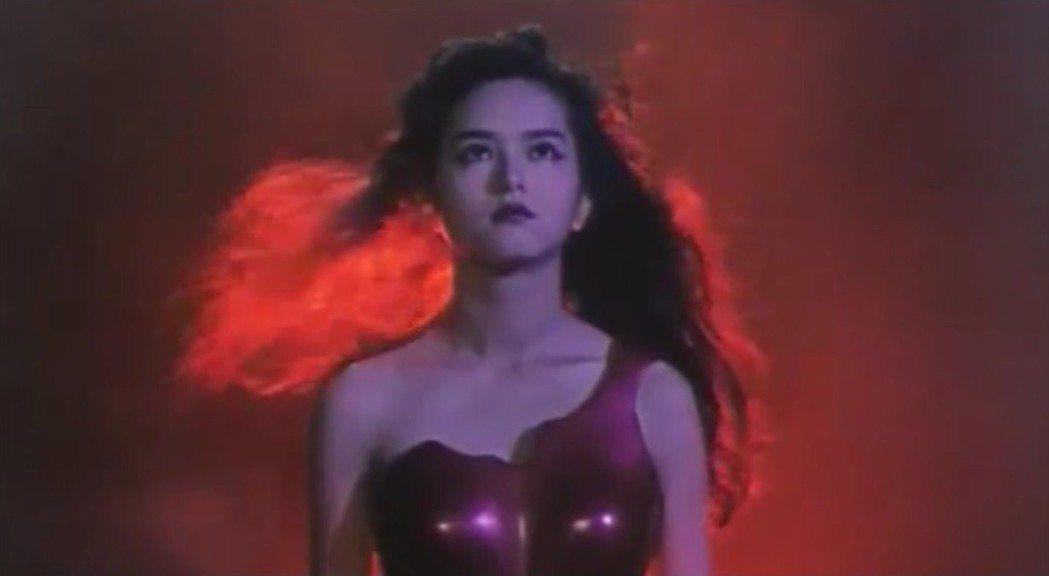 葉蘊儀雖非「孔雀王」主角,卻因此在日本大紅大紫。圖/摘自middle-edge....