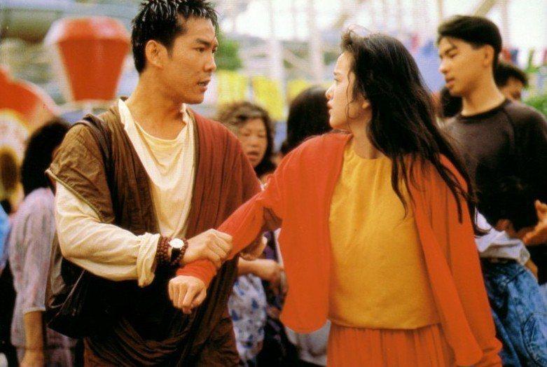 元彪與葉蘊儀在「孔雀王」有對手戲。圖/摘自HKMDB