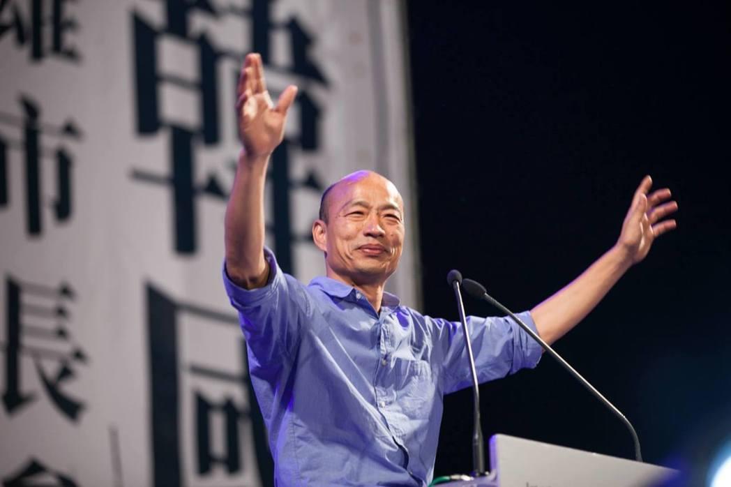 高雄市長韓國瑜近日出訪香港。圖/摘自臉書