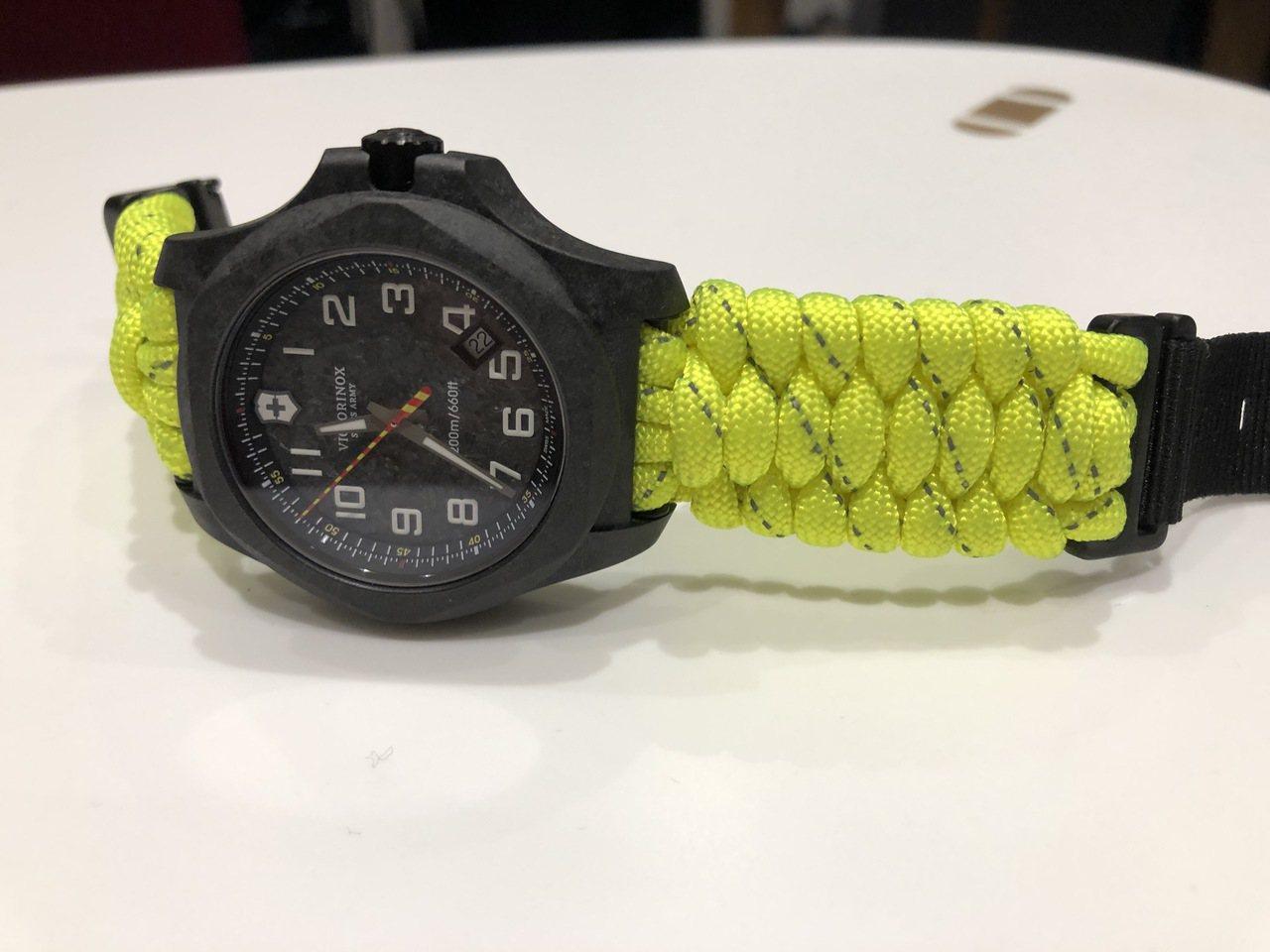 I.N.O.X. Carbon 向消防員致敬限量版43毫米碳纖維腕表,38,80...