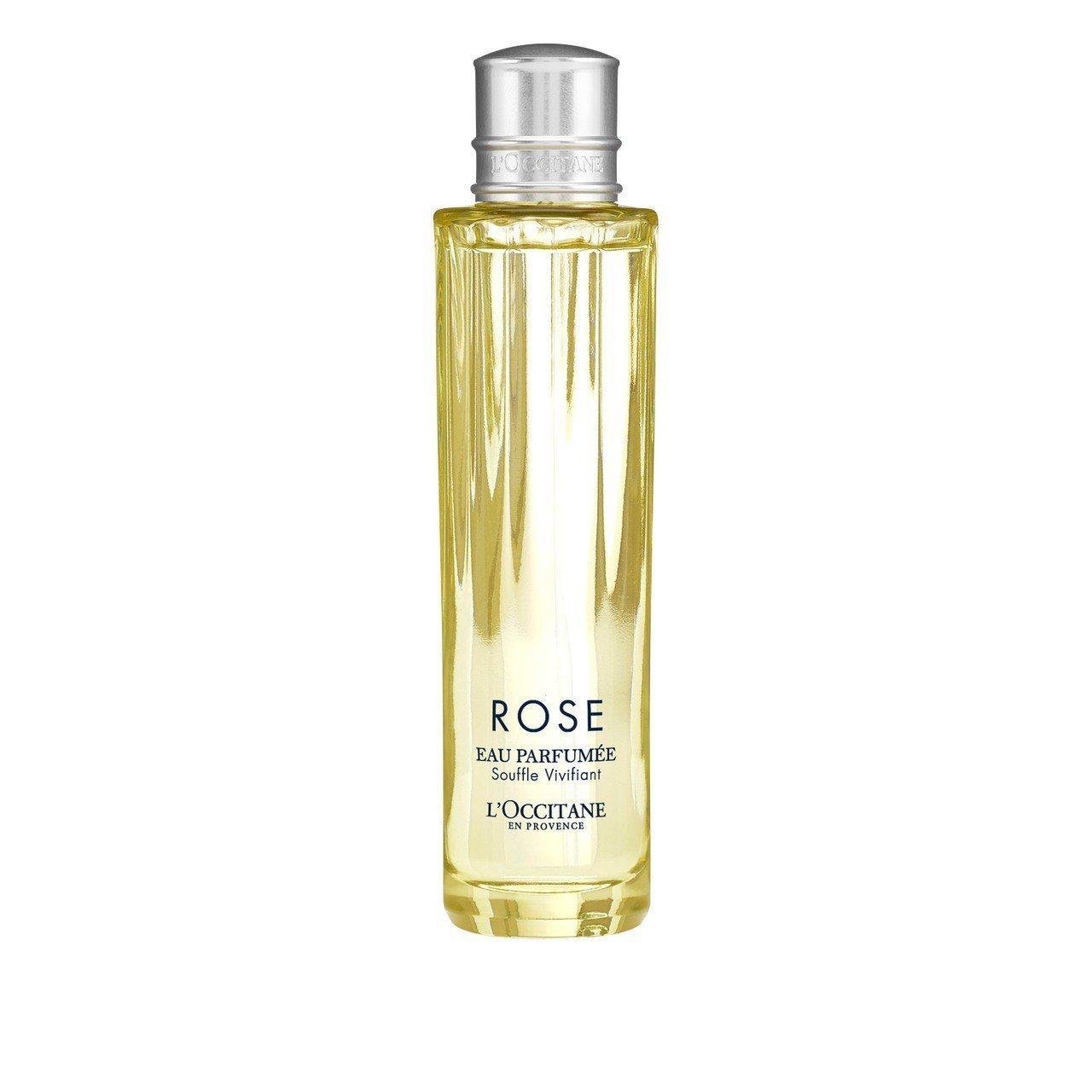 L'OCCITANE活力玫瑰香氛霧,50ml售價1,500元。圖/歐舒丹提供