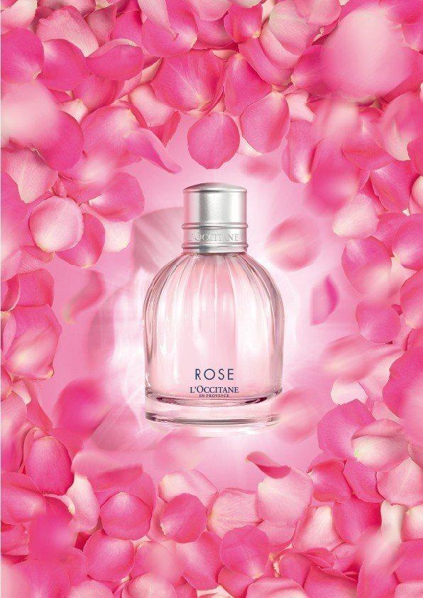 L'OCCITANE歐舒丹今年推出全新的玫瑰花園香氛系列。圖/歐舒丹提供