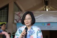 韓國瑜訪中聯辦惹議 蔡英文:製造一國兩制氛圍