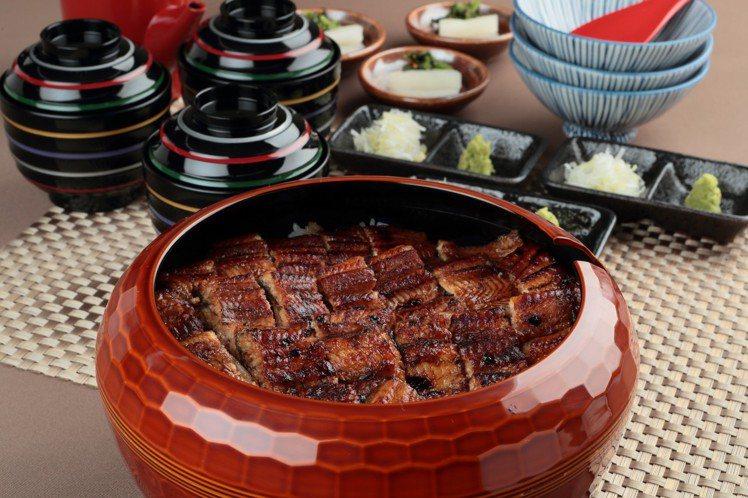 鰻魚飯三吃,3人份1,650元。圖/江戶川提供