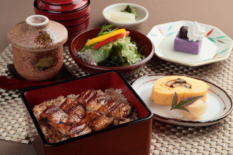 迷你鰻魚飯套餐,每份380元。圖/江戶川提供