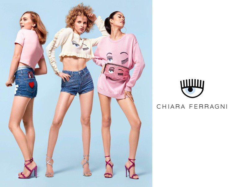 CHIARA FERRAGNI 2019春夏以美國西岸科羅拉多的元素設計粉嫩浪漫...