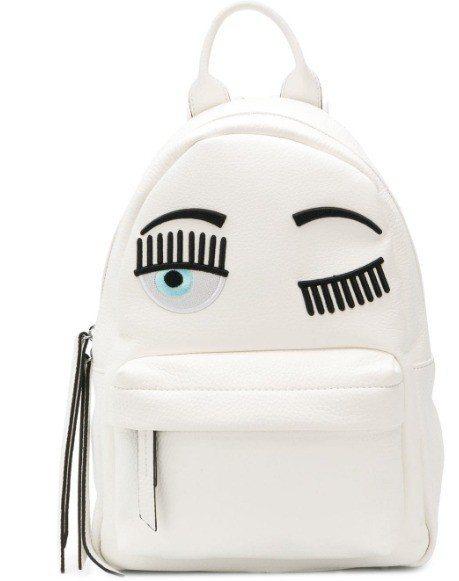 CHIARA FERRAGNI Flirting白色後背包(小),售價26,80...