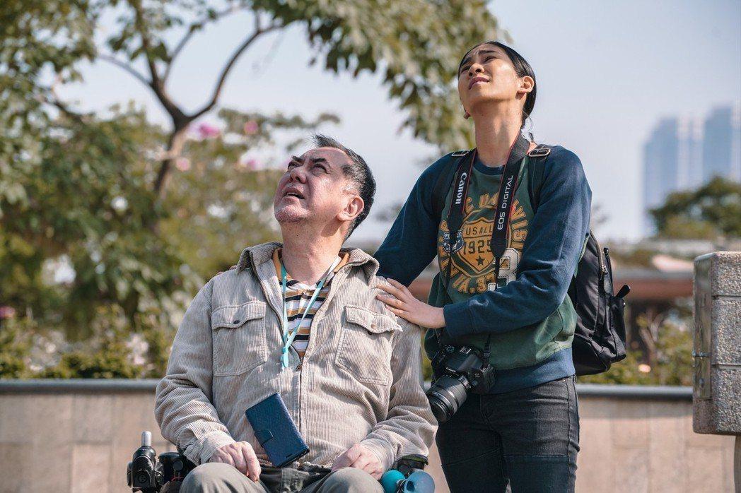 黃秋生與素人演員姬素孔尚治合作電影「淪落人」評價極好。圖/甲上提供