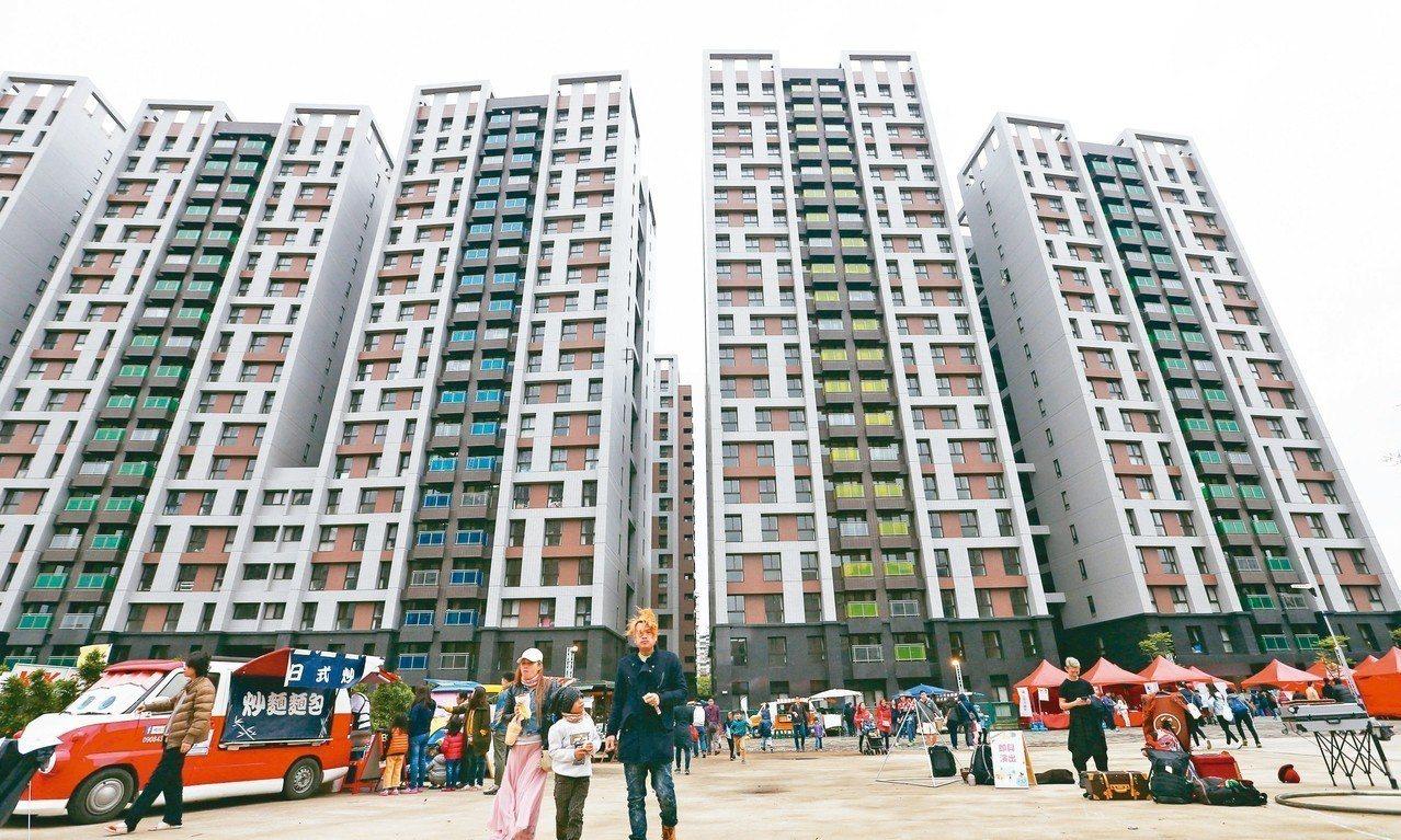 林口社會住宅。 記者杜建重/攝影