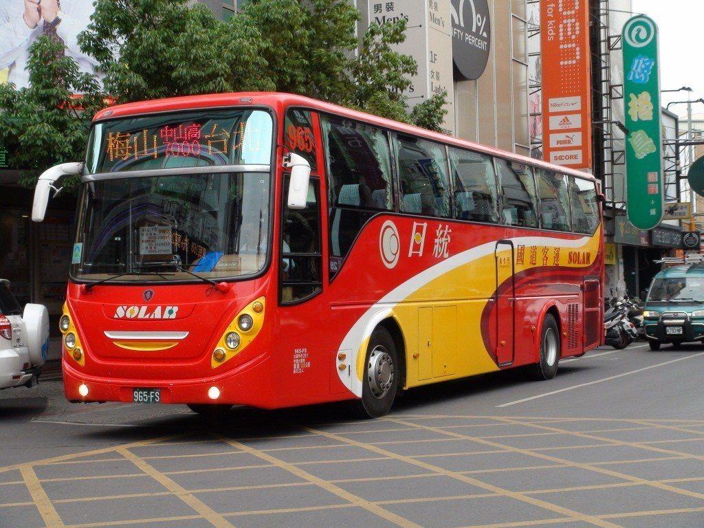 雲林老字號客運公司日統客運。 聯合報系資料照片/記者陳雅玲攝影