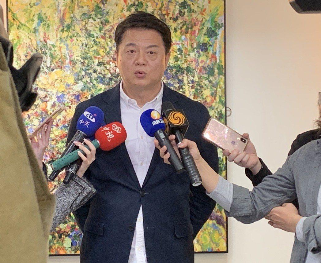 有意參選國民黨總統初選的前台北縣長周錫瑋。圖/聯合報系資料照片