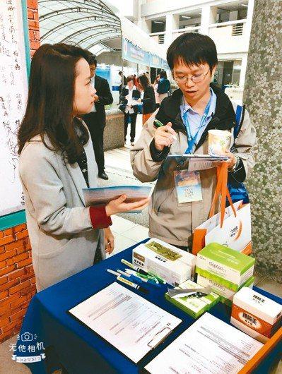 瑩碩子公司泰和碩於去年腎臟病醫學年會展示主力產品。 瑩碩/提供