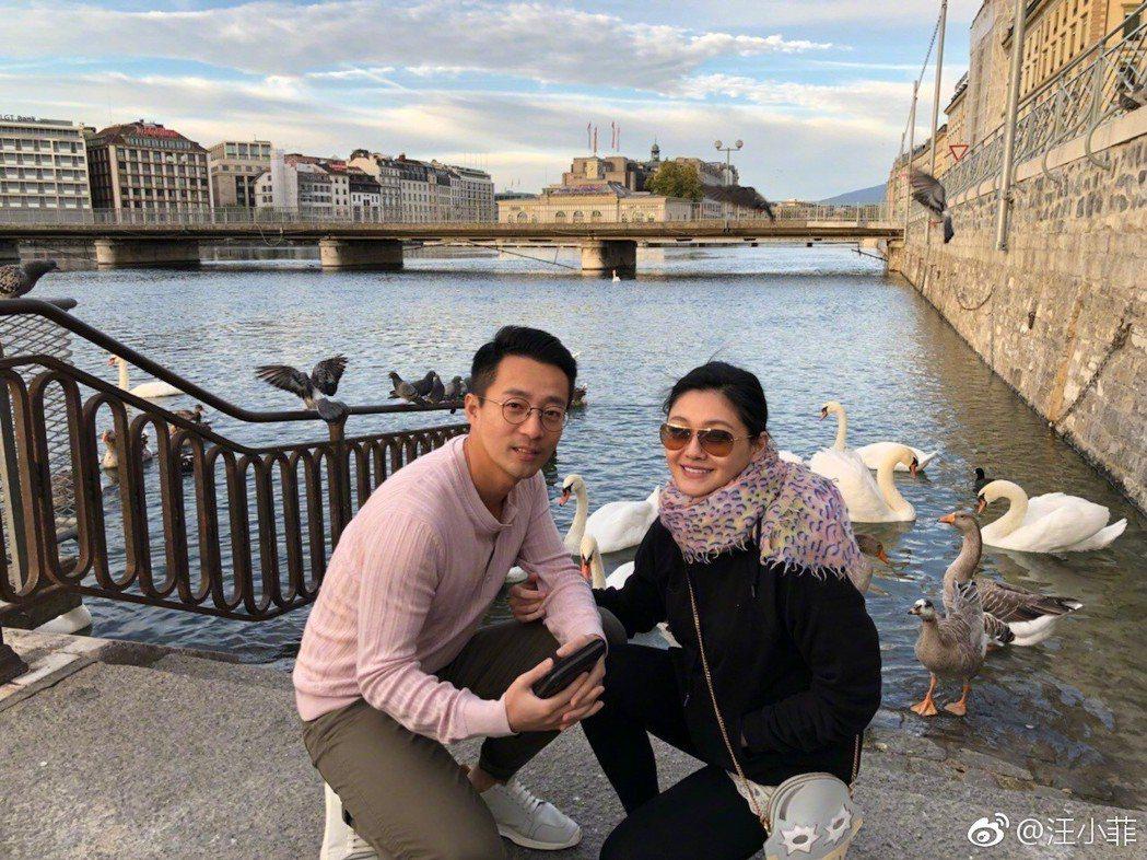 汪小菲與大S結婚八年感情依舊。 圖/擷自汪小菲臉書