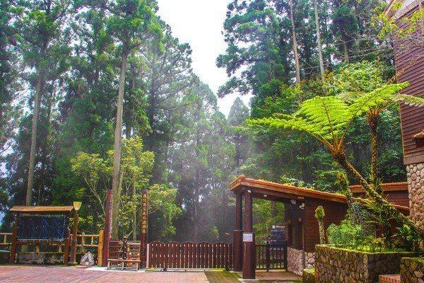 藤枝國家森林遊樂區入口。 圖/屏東林區管理處提供