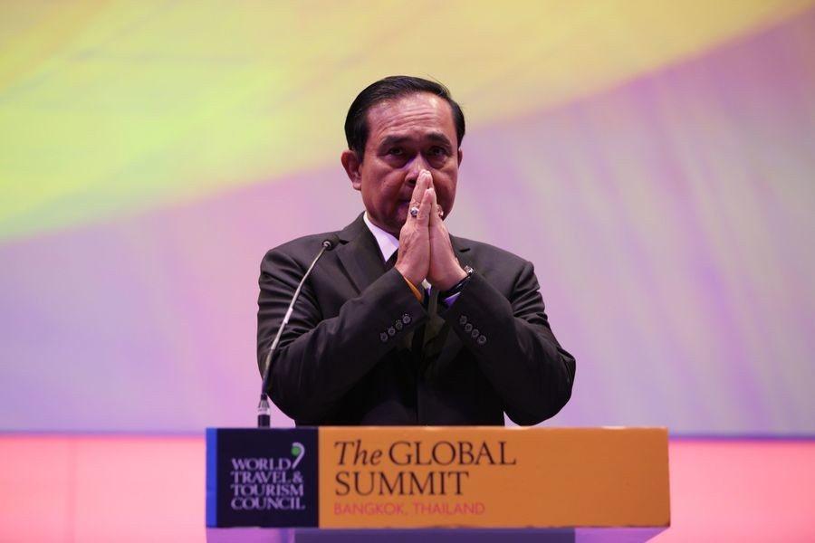 泰國睽違5年將進行民主選舉,軍方派帕拉育贏面極大,但實施政策依然難。(photo...