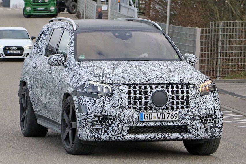 2020 Mercedes-AMG GLS 63路試現蹤 擁有兇猛性能的七人坐駕!