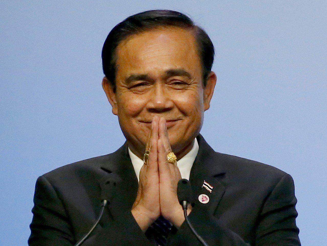 泰國總理帕拉育。 美聯社