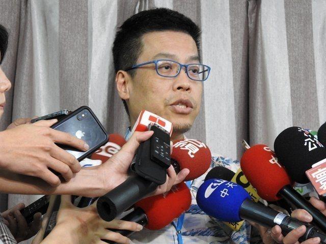 總統府發言人黃重諺。 聯合報系資料照片/記者周佑政攝影