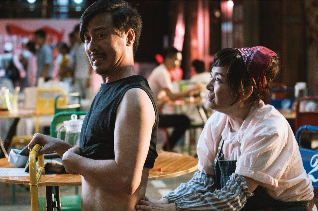 尹昭德拍戲也是拚命三郎型,偶爾也會受傷。圖/多曼尼提供