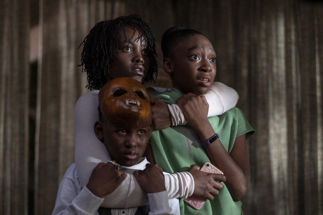 恐怖片「我們」在全球引起熱烈話題。圖/UIP提供