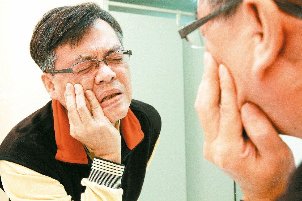 突然臉歪嘴斜不一定是中風症狀,恐是顏面神經麻痺。 圖/聯合報系資料照片