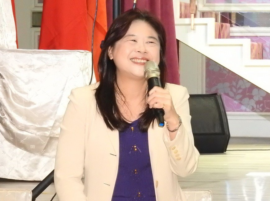 前台北市副市長李永萍參選新北立委第12選區立委。聯合報系資料照