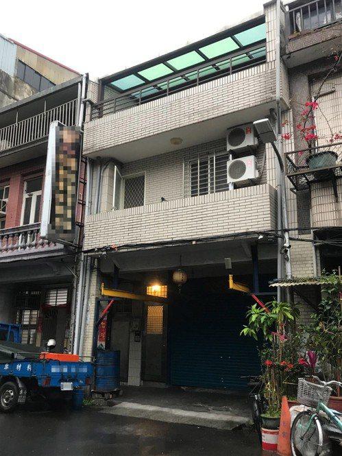 台北市大同區命案現埸外觀。記者蕭雅娟/攝影