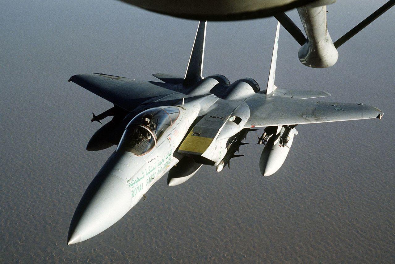 傳奇戰機F15。圖/翻攝自維基