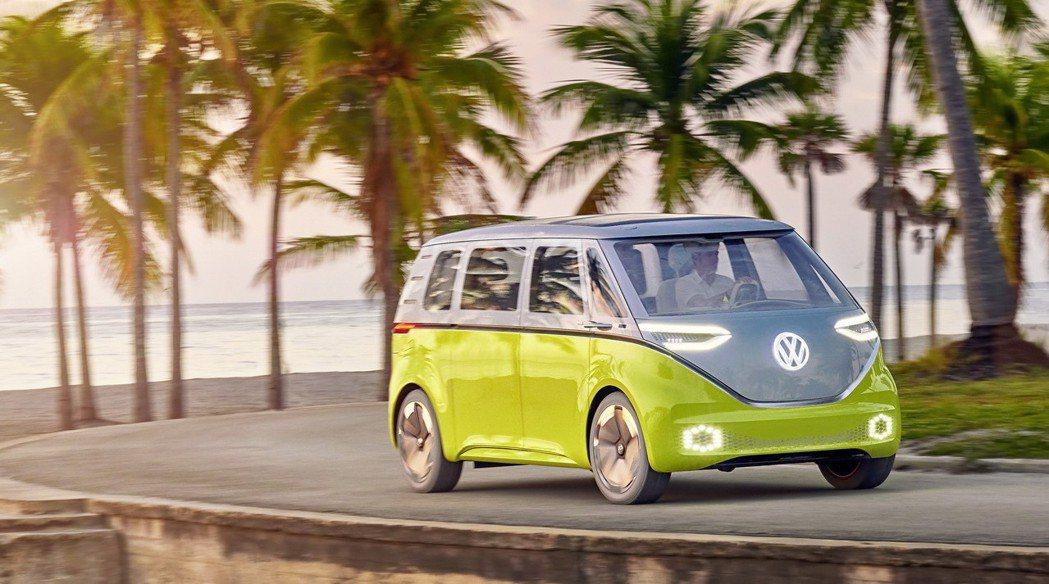 Volkswagen I.D. Buzz。 摘自Volkswagen