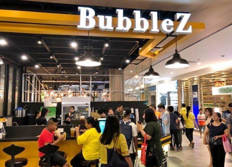 BubbleZ去(2018)年12月在泰國曼谷的百貨商場開設新點。 阿偉飲品/提...
