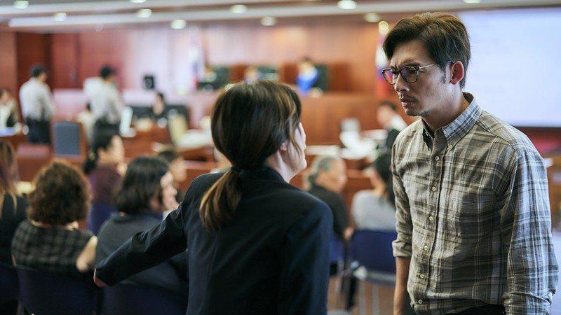 飾演受害者父母的賈靜雯與溫昇豪,在兒子遇害後關係失和。 圖/HBO提供