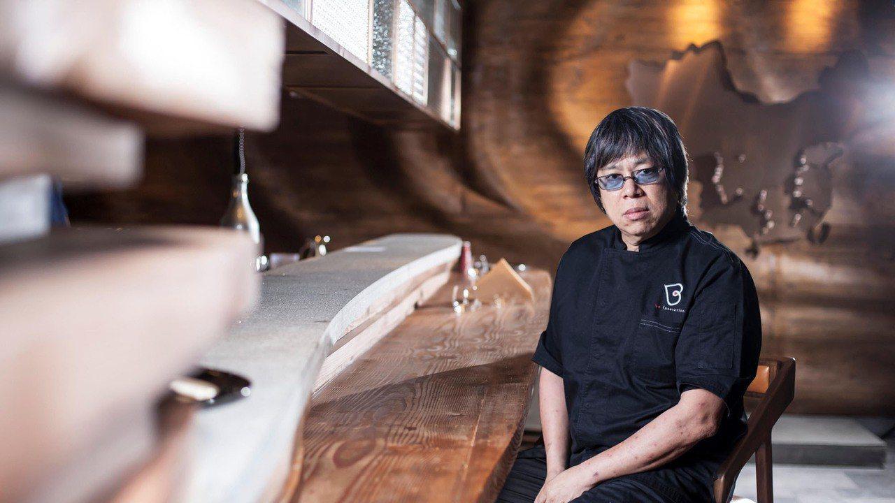 「廚魔」美名的華人米其林三星星廚Alvin 梁經倫。圖/犇鐵板燒提供