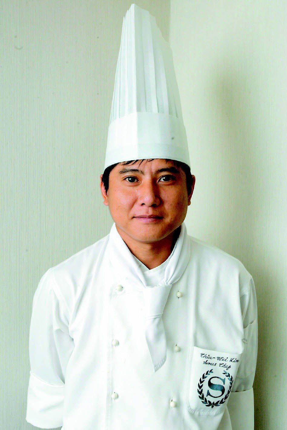 請客樓主廚林菊偉。記者陳再興/攝影
