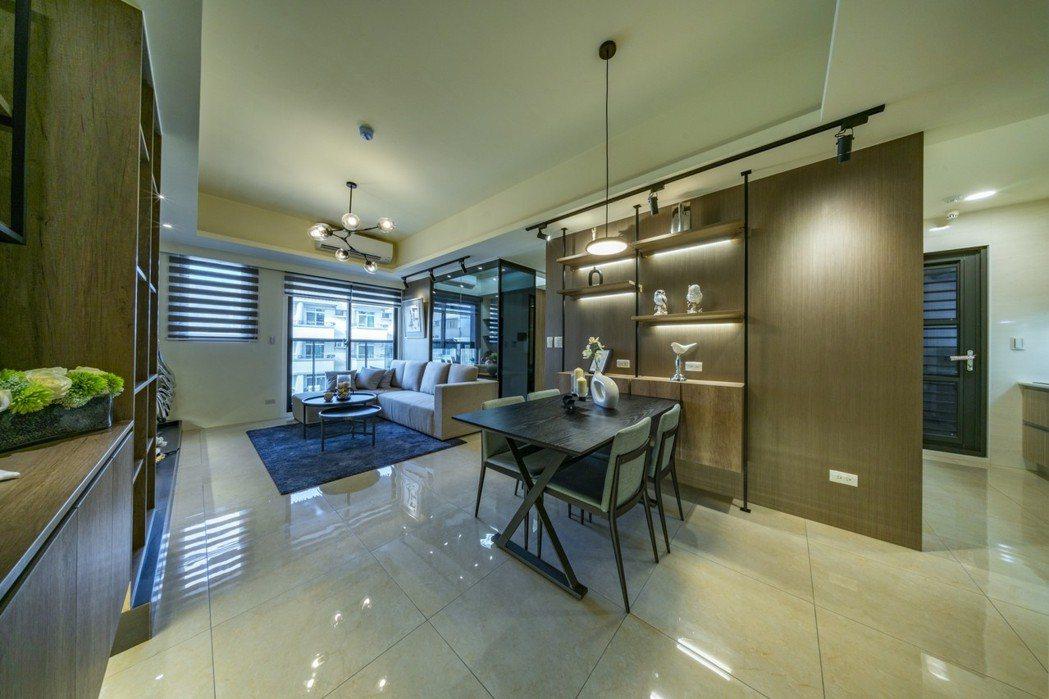 融合豪宅工法與建材的精品菁英名宅。圖片提供/嵩豐建設