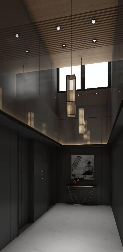 「仁愛逸捷」一層5戶配置2部電梯,便利不減。 仁愛逸捷/提供