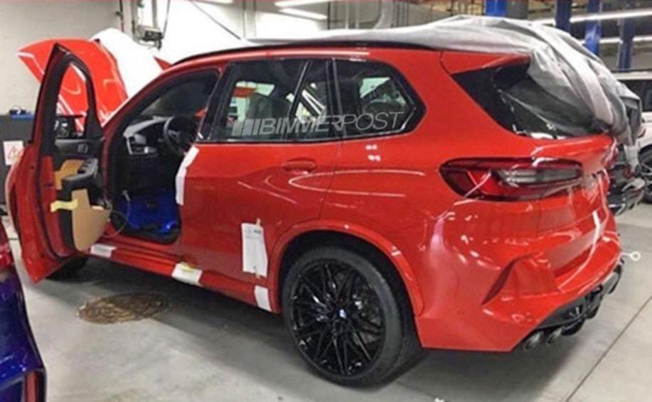BMW X5 M工廠整備流出。 摘自Bimmer Post