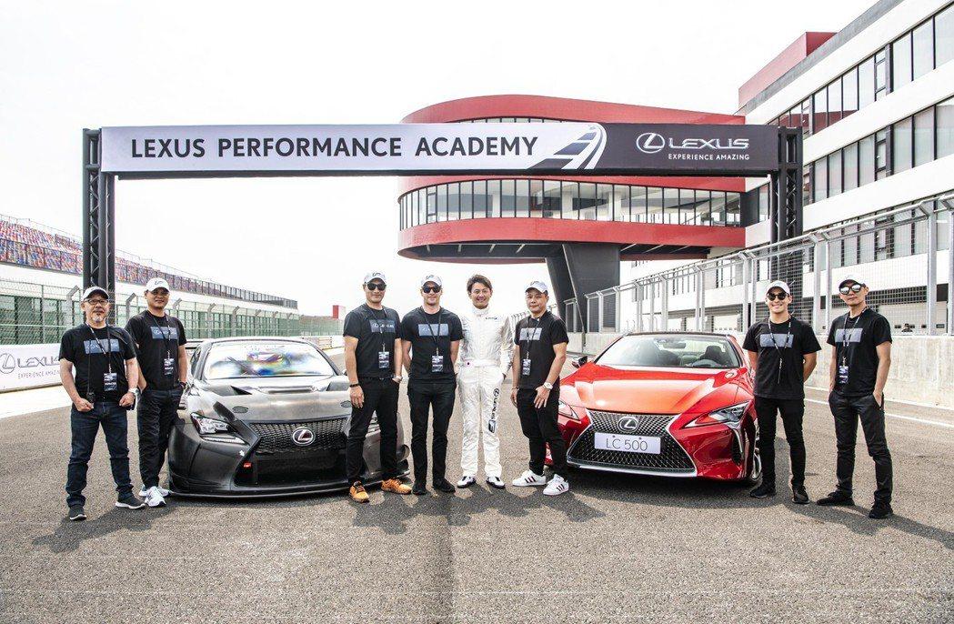 LEXUS上周在麗寶賽車場舉辦「LEXUS Performance Academ...