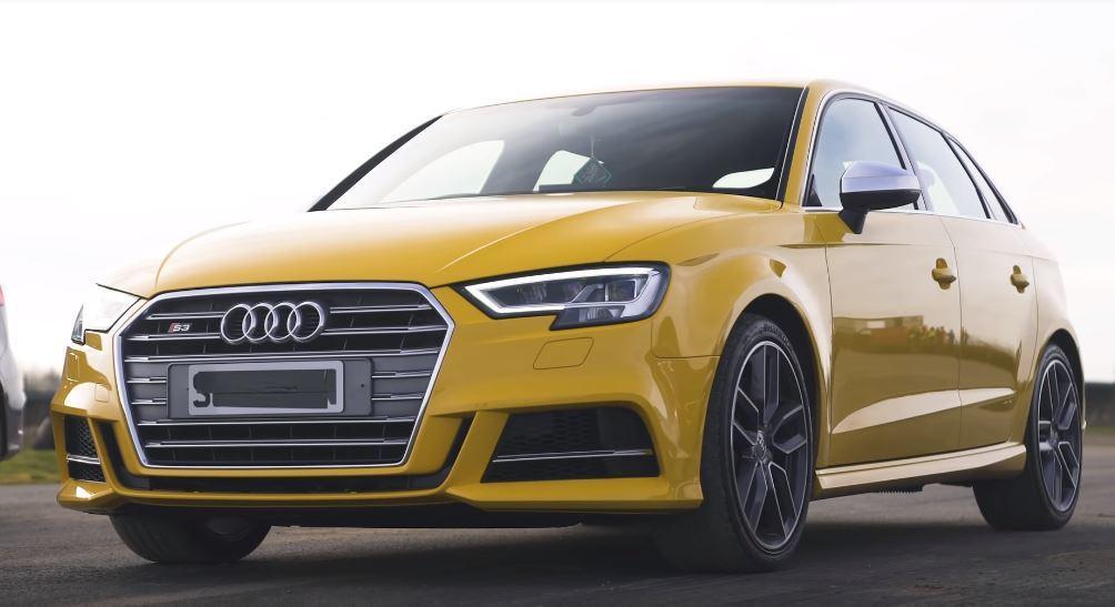 Audi S3。 擷自Carwow影片