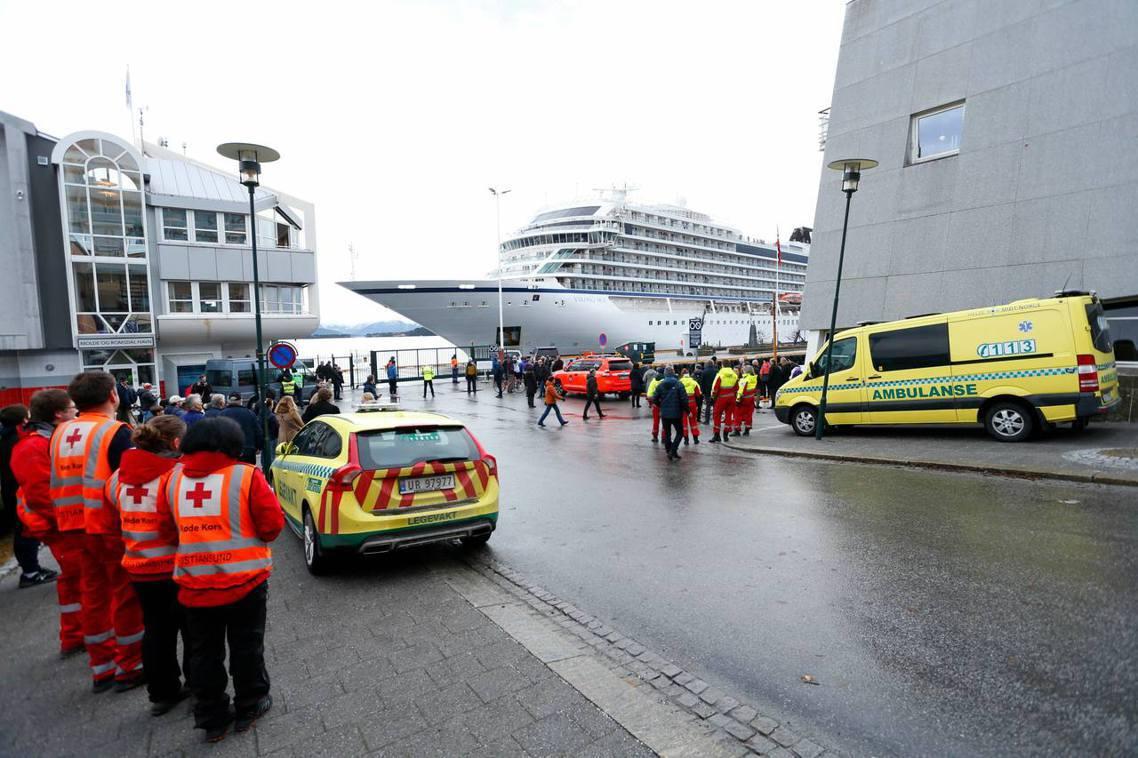 挪威政府表示,維京天空號的救援任務,是1980年「亞歷山大謝朗號海難」後,挪威近...