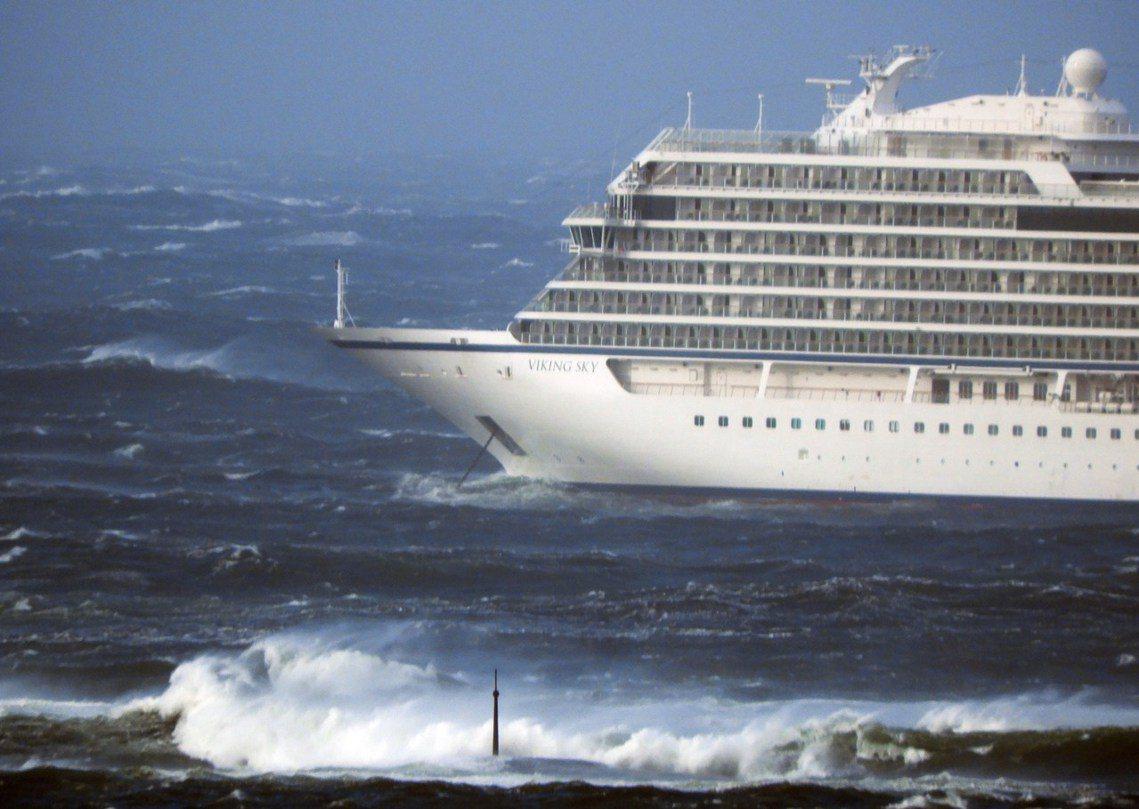 《路透社》報導,23日午後1點左右,維京天空號在挪威西南海域、默勒-魯姆斯達爾郡...