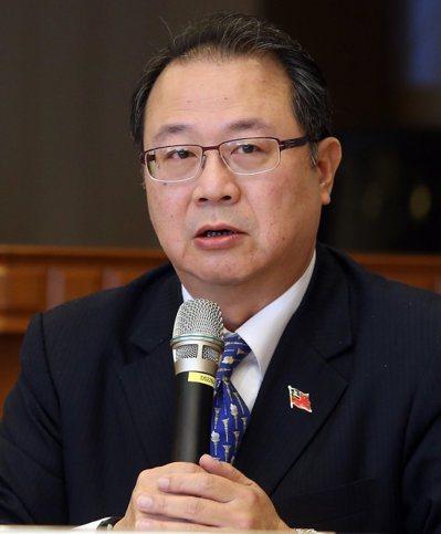 國民黨總統候選人韓國瑜的國政顧問黃介正。 圖/聯合報系資料照片