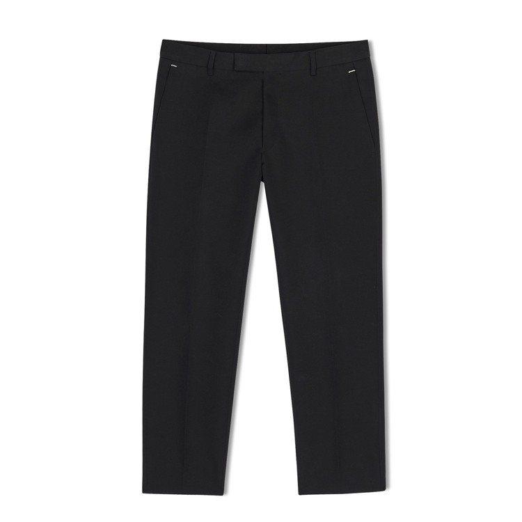 Berluti春夏迷你系列黑色羊毛西裝褲,約32,000元。圖/Berluti提...