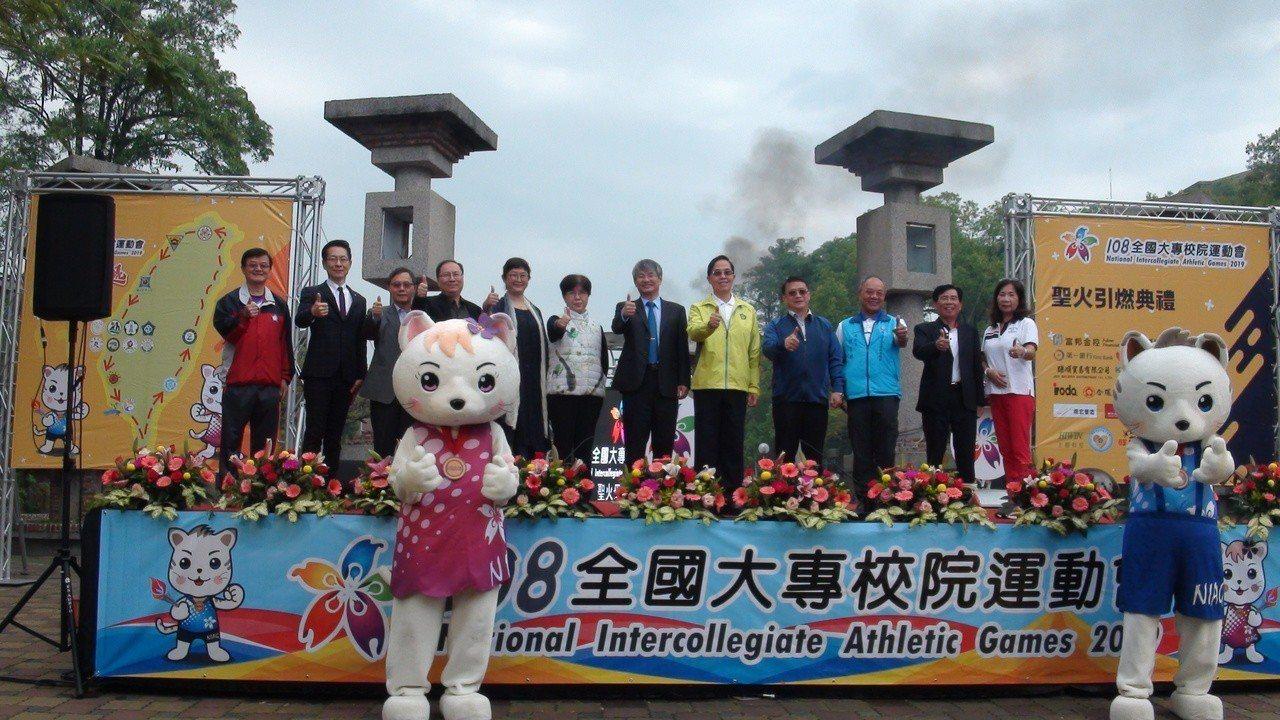 主辦單位歡迎各界民眾到嘉義觀賞全大運和旅遊。記者謝恩得/攝影
