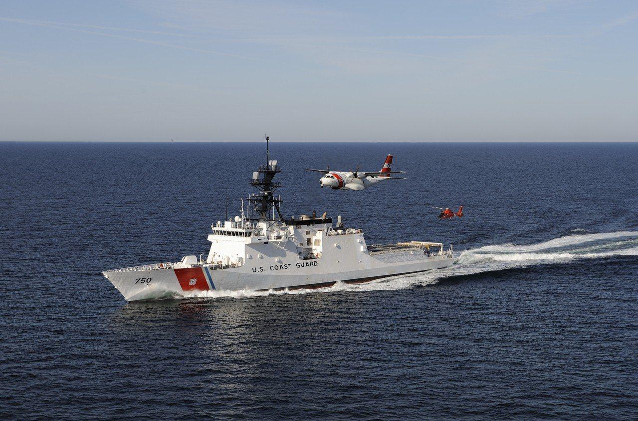 伯瑟夫號巡邏艦。圖/美國海岸防衛隊資料照片